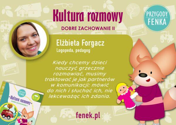 Elżbieta Forgacz kultura rozmowy